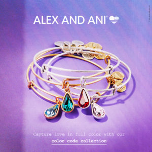 Alex and Ani Birthstone Collection