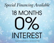 No Interest for 18 months