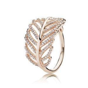 PANDORA Rose™ Feather Ring