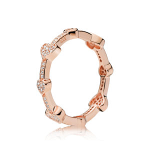 PANDORA Rose™ Alluring Hearts Ring