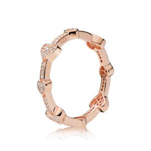 PANDORA Rose™ Alluring Hearts Ring