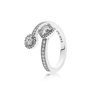 PANDORA Abstract Elegance Ring