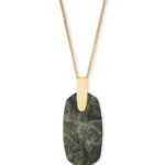 Kendra Scott Inez Sage Mica Necklace