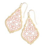 Kendra Scott Addie Two tone Earrings