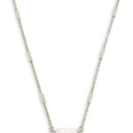 Kendra Scott Silver Fern Necklace