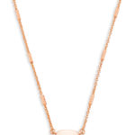 Kendra Scott Rose Fern Necklace